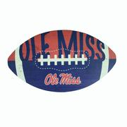 OLE MISS 12IN FOOTBALL CUT OUT