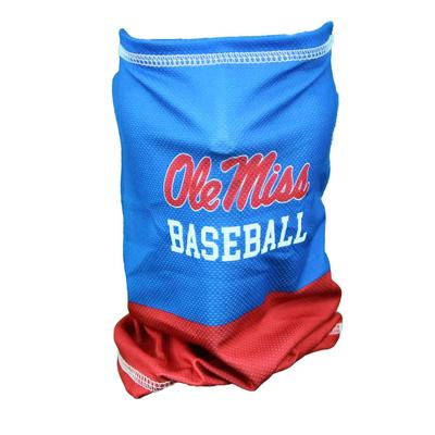 OLE MISS BASEBALL ANTIMICROBIAL MESH NECK GAITER