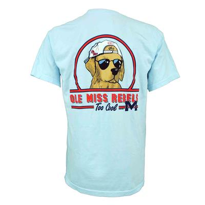 OLE MISS REBELS TOO COOL SS COMFORT COLORS TEE