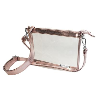 SMALL CROSSBODY CLEAR PURSE