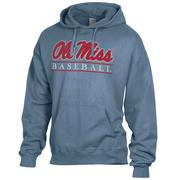 OLE MISS BASEBALL BAR COMFORT WASH HOODY