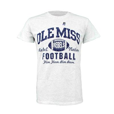 OLE MISS FOOTBALL REBEL NATION SS TEE