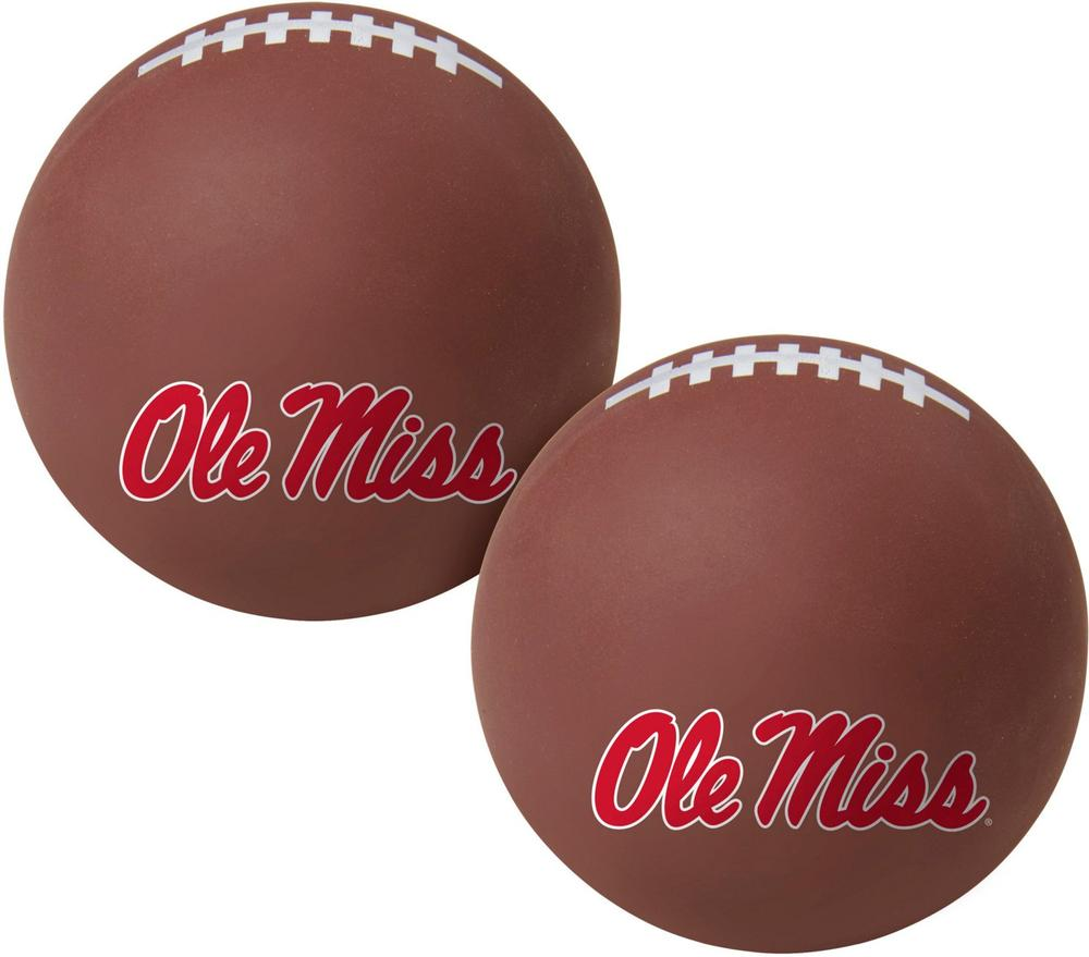 Ole Miss Big Fly 2.5 ` High- Fly Rubber Bounce Ball