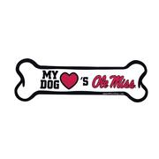 OLE MISS BONE MAGNET