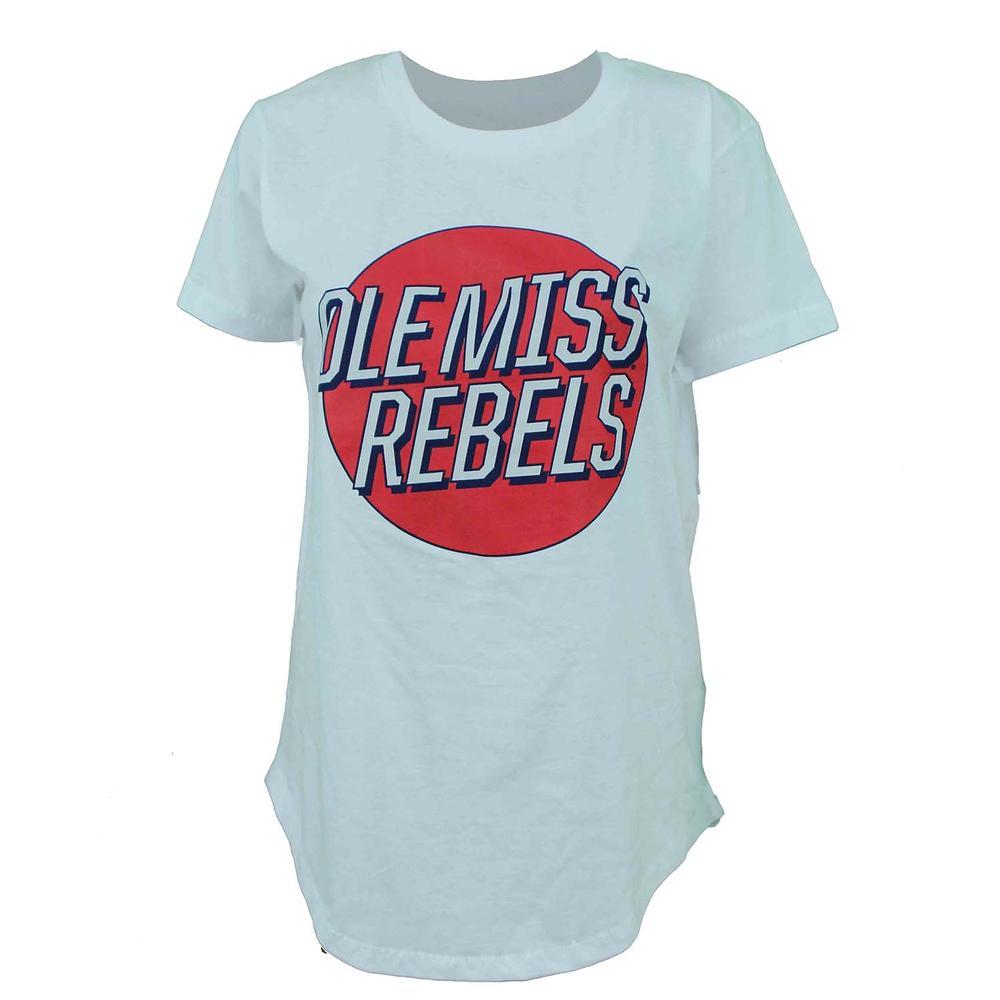 Ole Miss Rebels Mariana Retro Womens Ss Tee