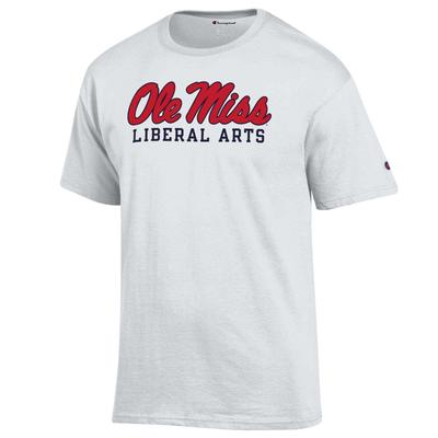 SS SCRIPT OLE MISS LIBRAL ARTS BASIC TEE