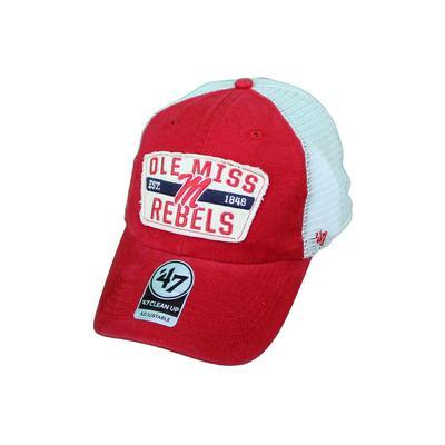 RED CRAWFORD CLEAN UP CAP