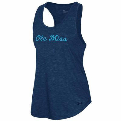 OLE MISS HOTTY TODDY BREEZY TANK NAVY