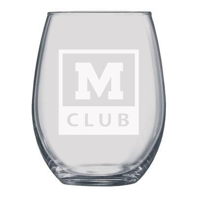 M CLUB 21OZ STEMLESS WINE GLASS