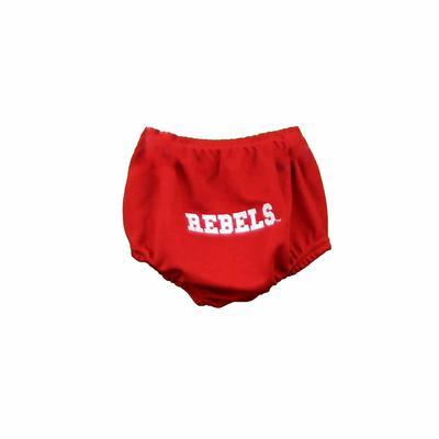 REBELS CHEER PANTY BLOOMERS RED