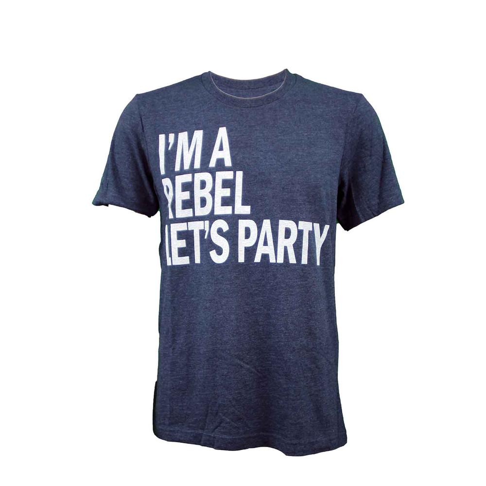 Im A Rebel Lets Party Ss Crew Tee