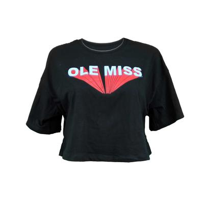OLE MISS ALEXA RELAXED CROPPED TEE