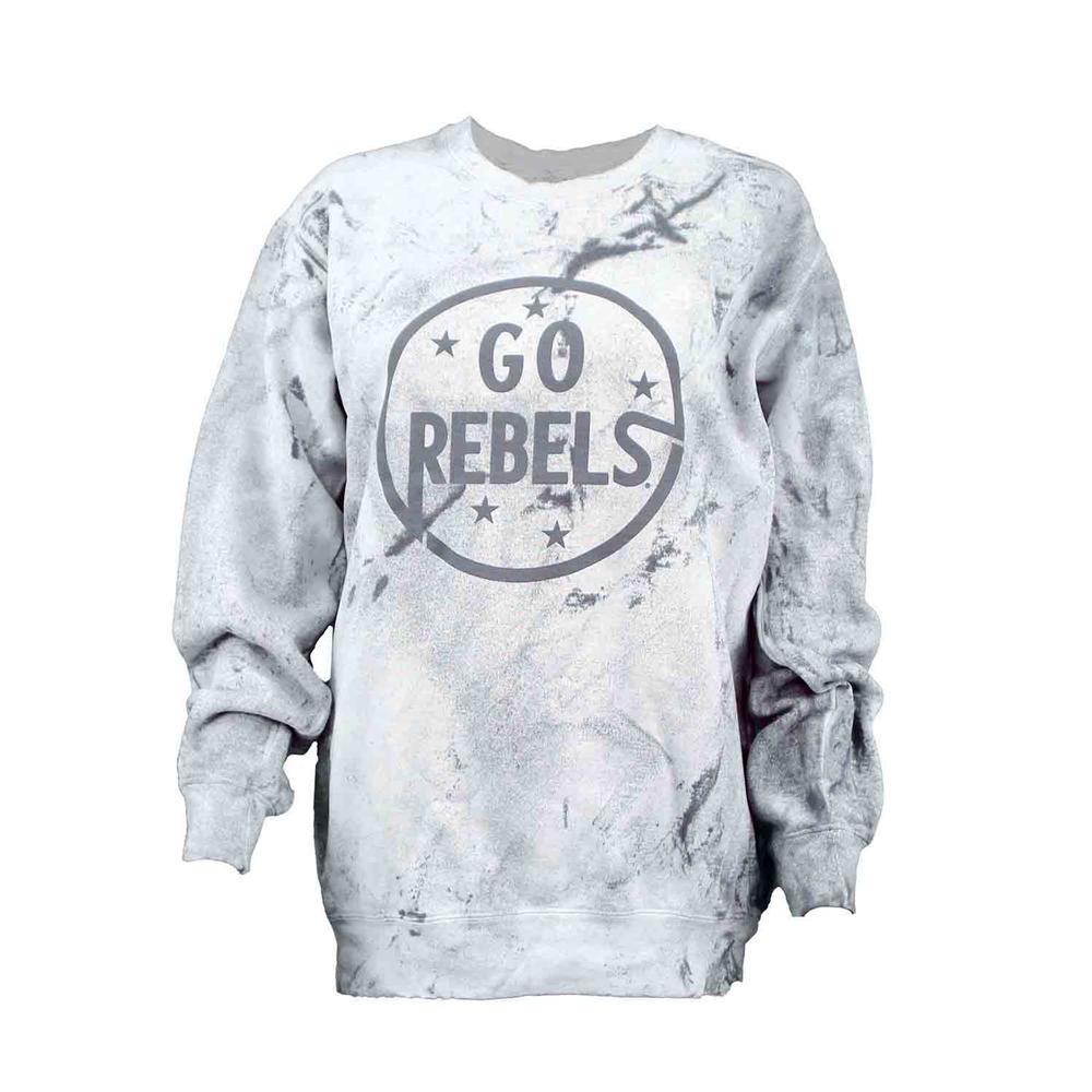 Go Rebels Comfort Colors Color Blast Crew Sweatshirt