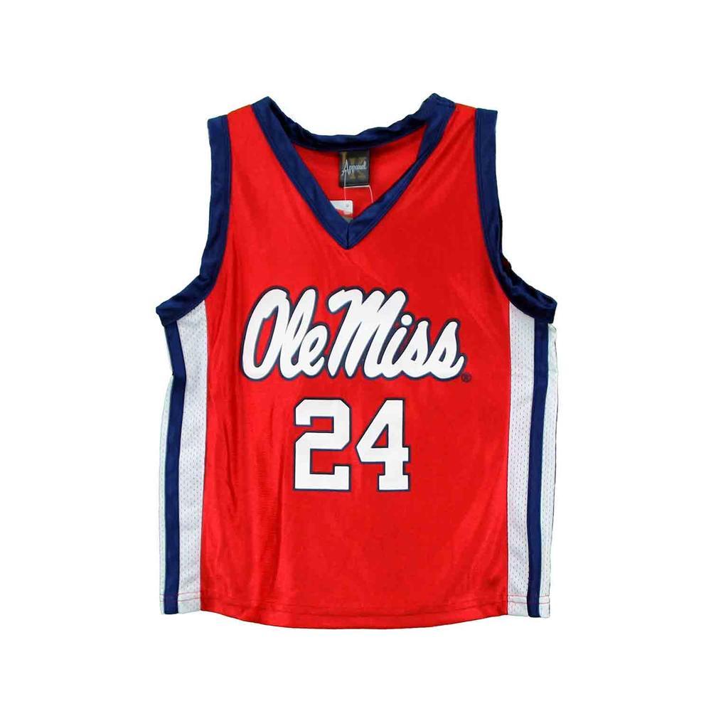 Ole Miss Kids Basketball Jersey