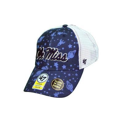 YOUTH OLE MISS BLAST OFF MVP CAP