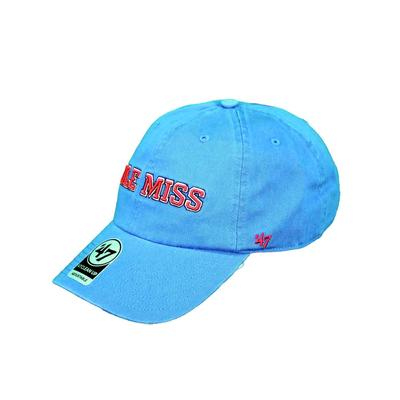 BLOCK OLE MISS CLEAN UP CAP