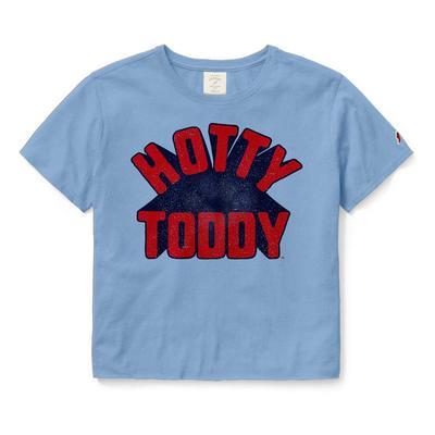 HOTTY TODDY CLOTHESLINE COTTON CROP SS TEE