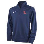 OLE MISS NIKE YOUTH THERMA 1/4 ZIP