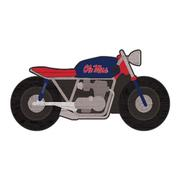 OLE MISS MOTORCYCLE WALL SIGN
