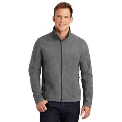 PA CORE SOFT SHELL JACKET PEARL_GREY_HTHR
