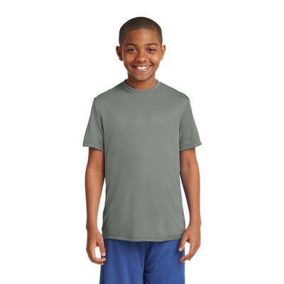YOUTH POSICHARGE COMPETITOR TEE CONCRETE