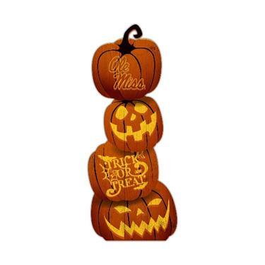 Ole Miss Trick Or Treat Pumpkin