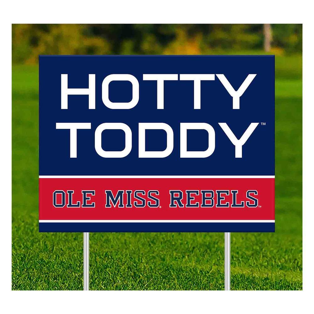 Ole Miss Rebels Yard Sign
