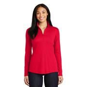 LADIES POSICHARGE COMPETITOR QTR ZIP