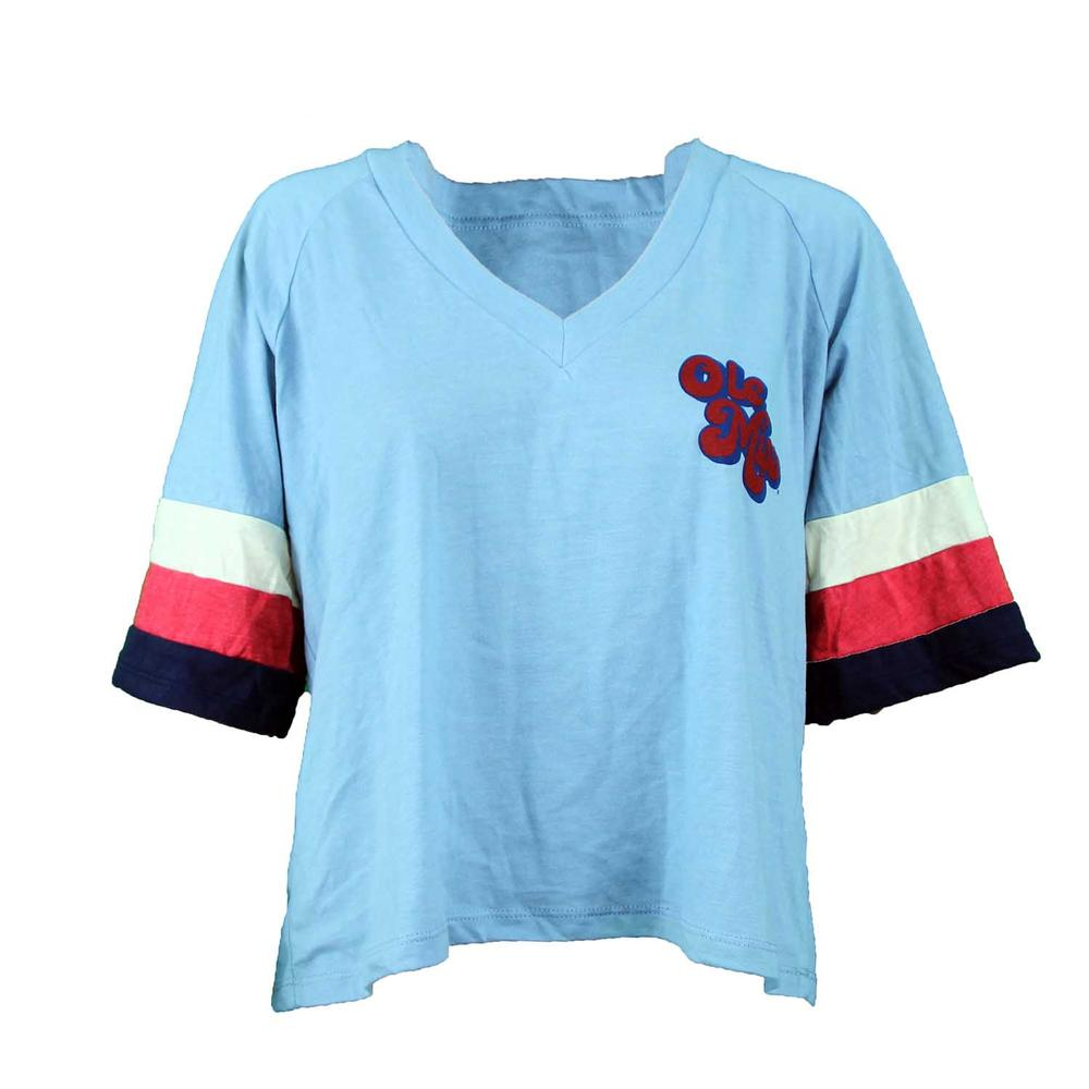 Ole Miss Ss Camp Collection Ventura Tee