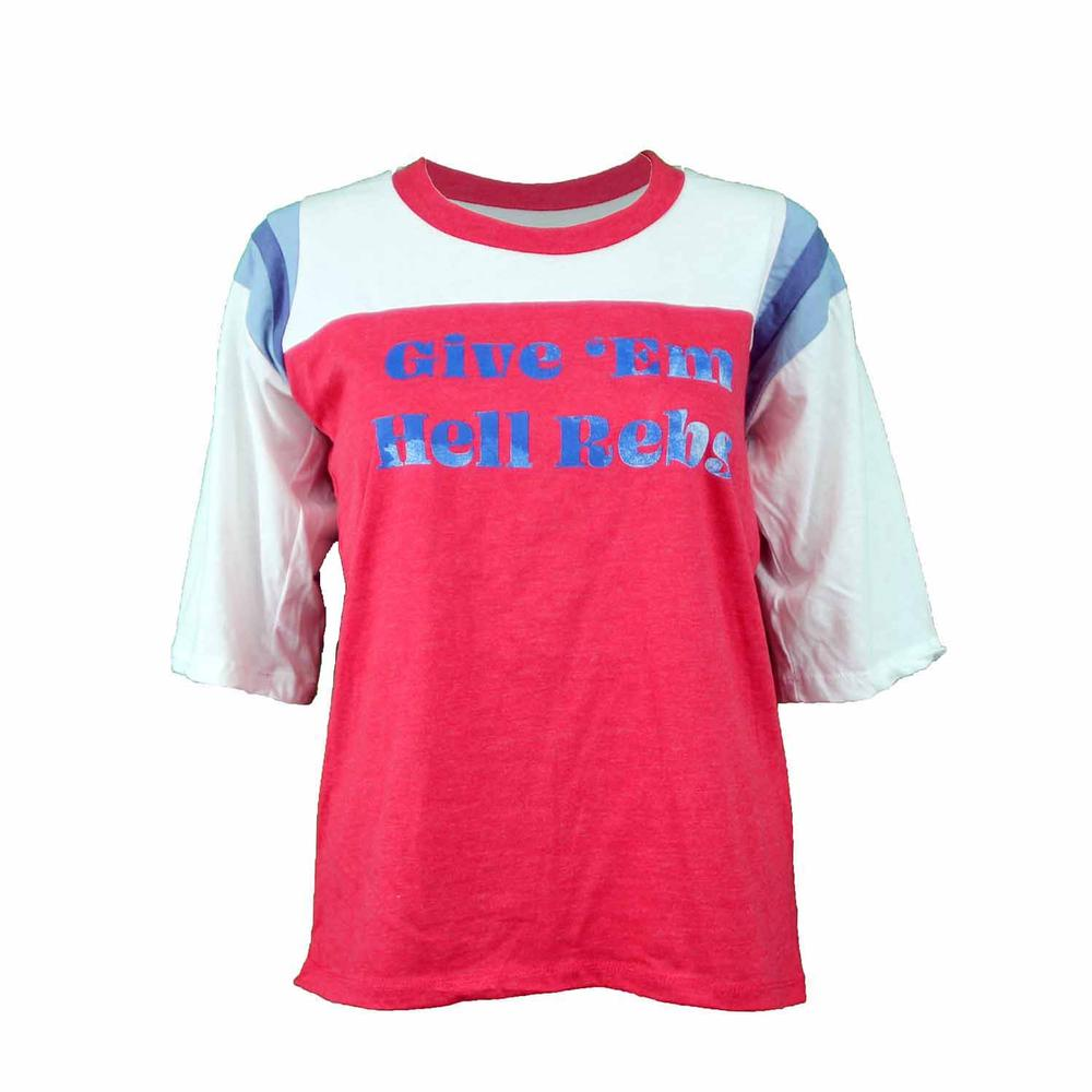 Give ` Em Hell Rebs Campus Collection Cameron Ss Tee