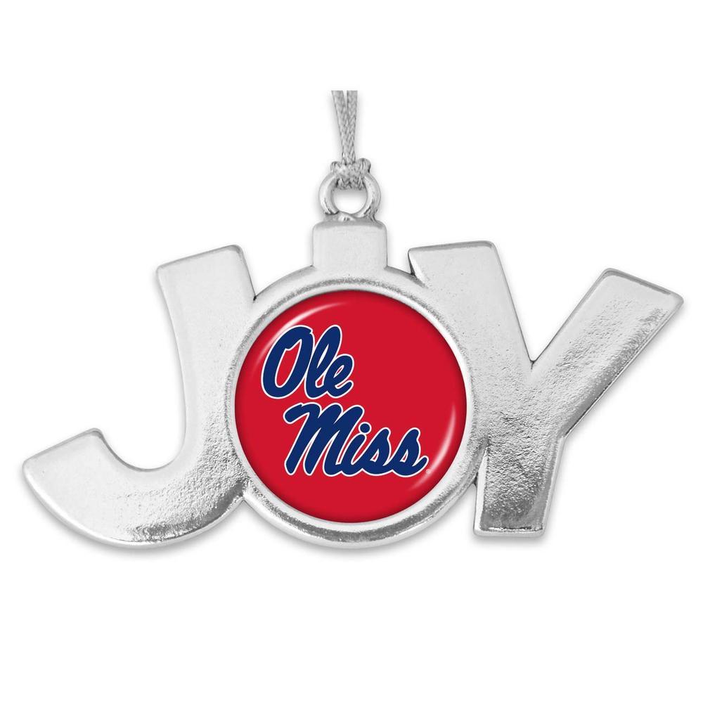 Ole Miss Joy Christmas Ornament