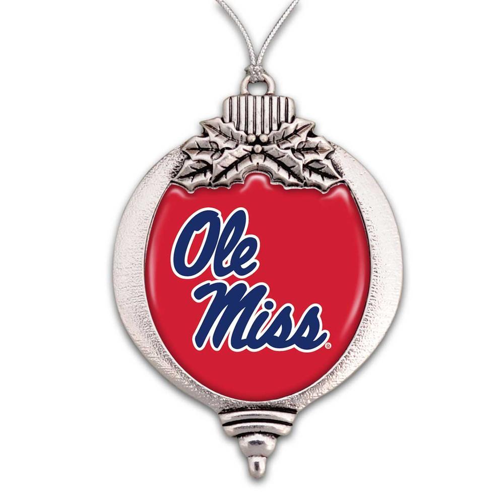 Ole Miss Bulb Christmas Ornament