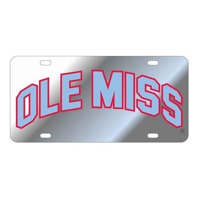 LASER ARCH OLE MISS LICENSE PLATE