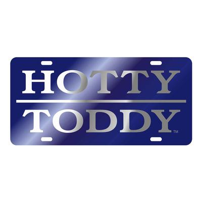 LASER HOTTY TODDY LICENSE PLATE