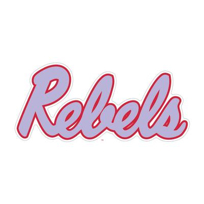 6 INCH REBELS DECAL