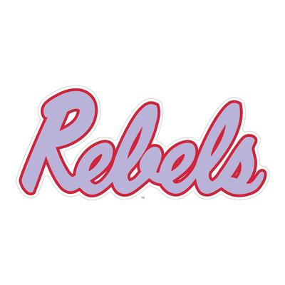 12 INCH REBELS DECAL
