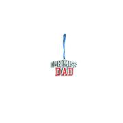 PEWTER OLE MISS DAD ORNAMENT