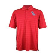 STACKED OLE MISS TEXTURED SOLID POLO