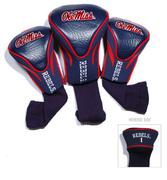 OLE MISS 3 PK GOLF CLUB SOCK H