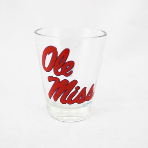Ole Miss Shot Glass