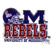 REBELS FOOTBALL MAGNET