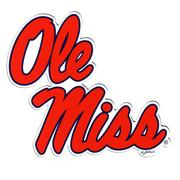 OLE MISS 2-PACK CAR MAGNETS