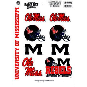 Vinyl Ole Miss Stickers