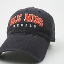 NAVY WASHED EZ TWILL OLE MISS