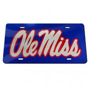 BLUE TAG MIRROR OLE MISS SCRIP