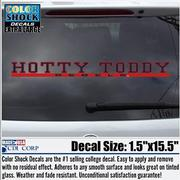 HOTTY TODDY REBELS ONE LINE DECAL
