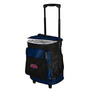 NAVY OLE MISS ROLLING COOLER