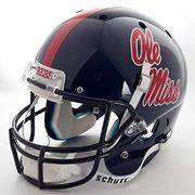 AUTHENTIC OLE MISS FOOTBALL HEMET