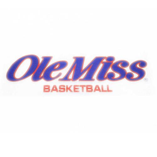 Ole Miss Basketball Decal