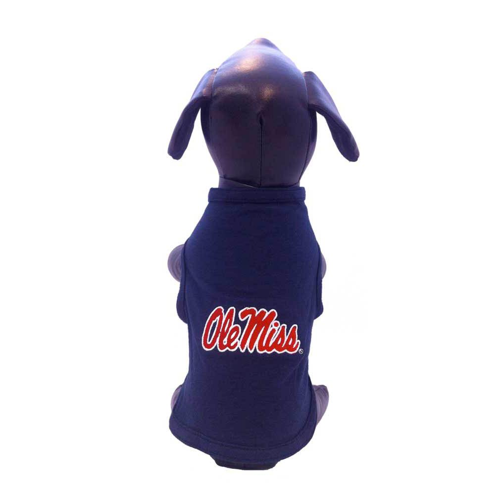 Ole Miss Dog Tank Top Navy Ti